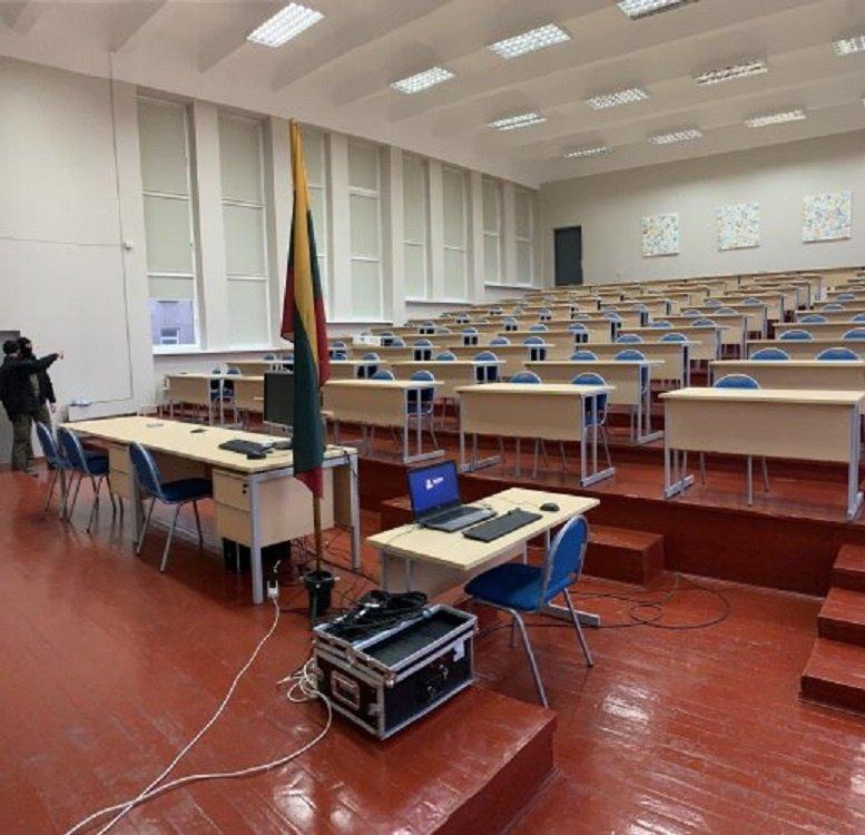 Nusikaltėlių bylos nagrinėjimas vyko Klaipėdos universitete