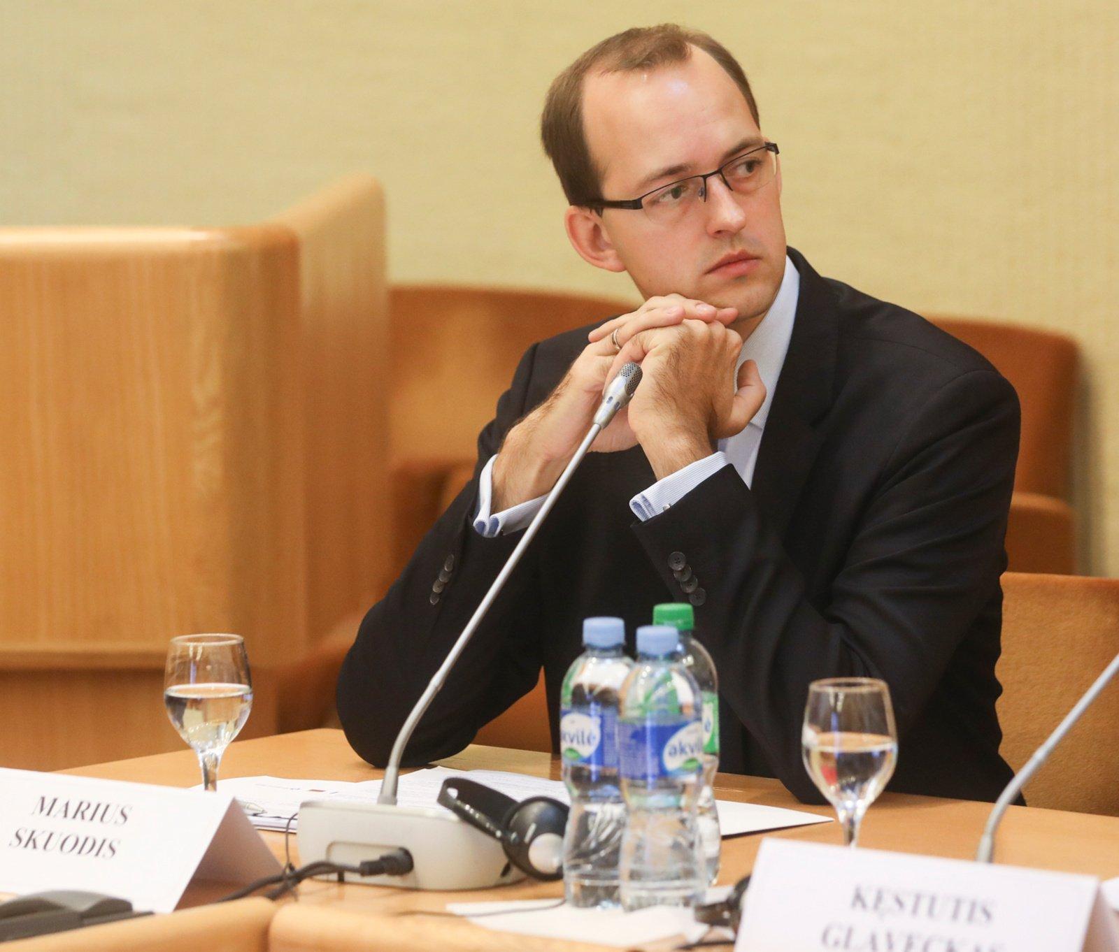 Laisvės partija į susisiekimo ministrus teikia M. Skuodžio kandidatūrą