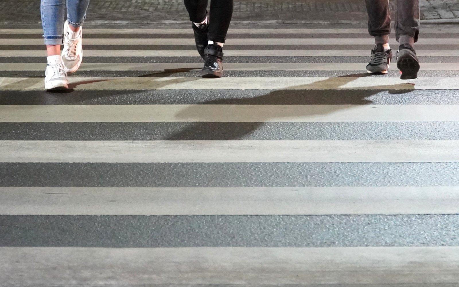 Per penkmetį daugiau kaip 38 procentai eismo įvykiuose nukentėjusių pėsčiųjų buvo vaikai nuo 6 iki 10 metų