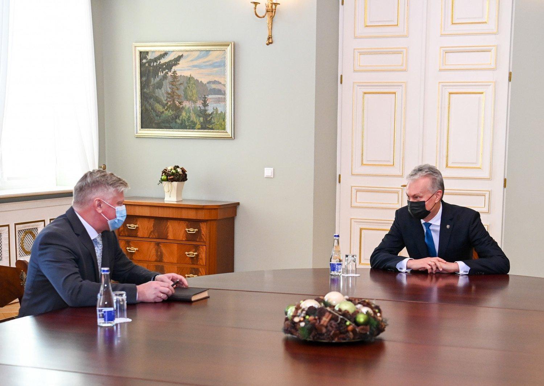 Prezidentas palankiai vertina K. Navicko kandidatūrą į žemės ūkio ministrus
