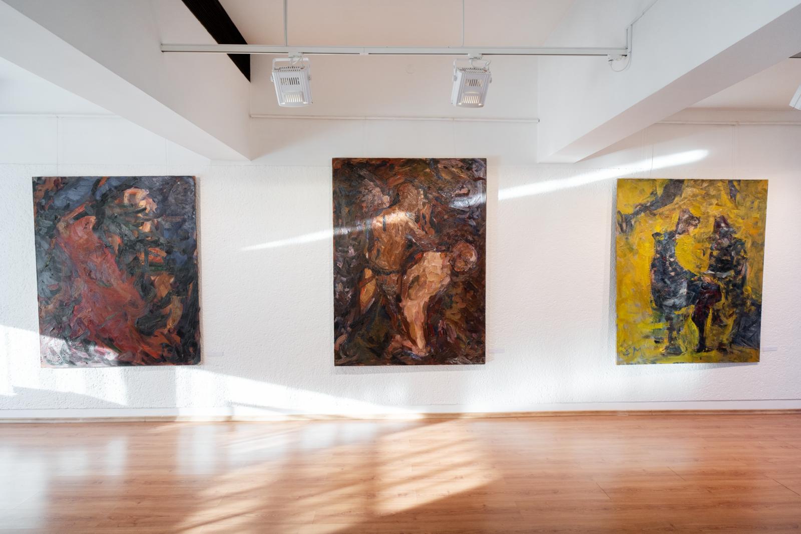 Sigitos Maslauskaitės tapyba Laiptų galerijoje