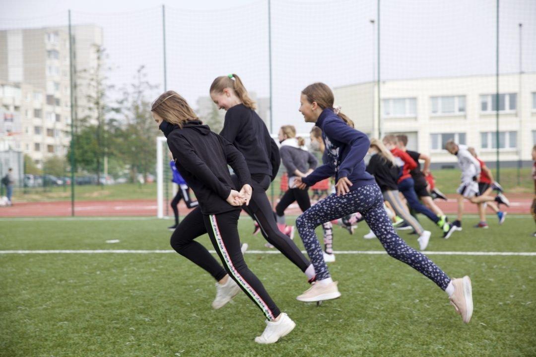 700 tūkst. eurų bus skirta vilniečių fiziniam aktyvumui ir sporto veiklų plėtrai