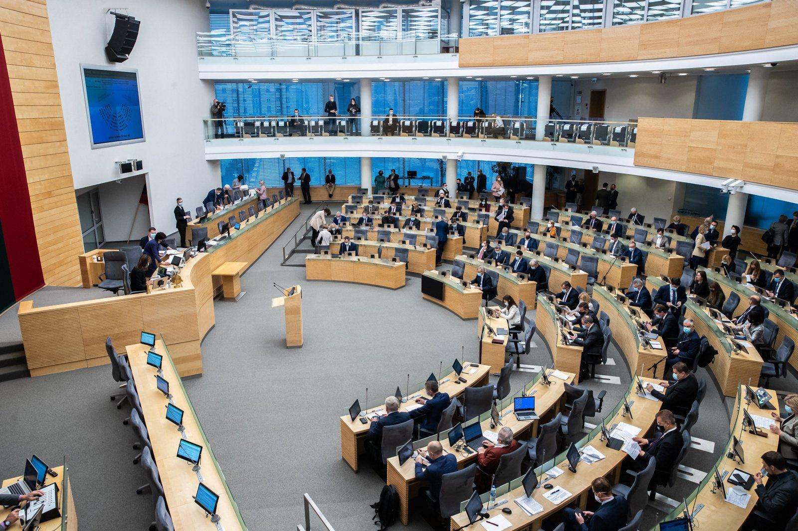 Patikslintą biudžetą Seimas ketina priimti birželio 22-ąją