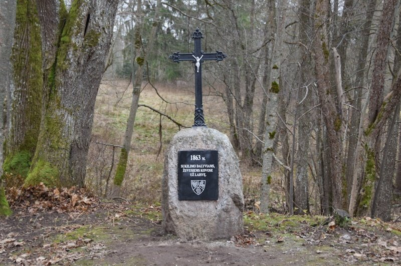 Panevėžio rajone įamžintas 1863 m. sukilimo dalyvių atminimas