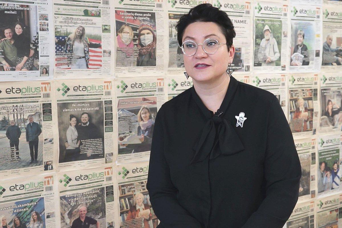 """Naujienų portalo direktorė G. Brazlauskaitė: """"Labiausiai iš studijų universitete įstrigo šiltas bendravimas su dėstytojais"""""""