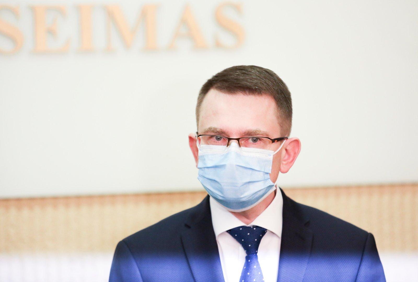 A. Dulkys: ekstremalių situacijų komisija Vyriausybei siūlys netęsti karantino