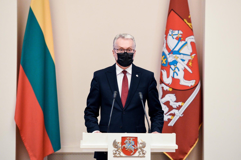Prezidentas pasveikino nacionalinių premijų laureatus: be kultūros būtumėme tik šešėliai