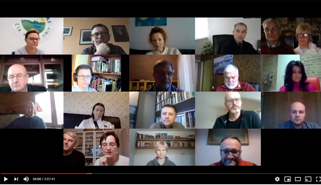 Virtualioje konferencijoje diskutuota apie Dubingių ateitį