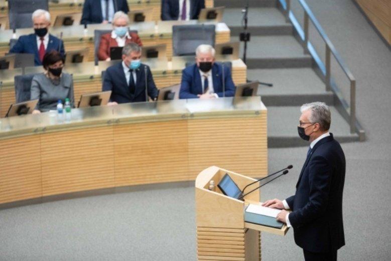 G. Nausėda pasirašė kitų metų biudžetą