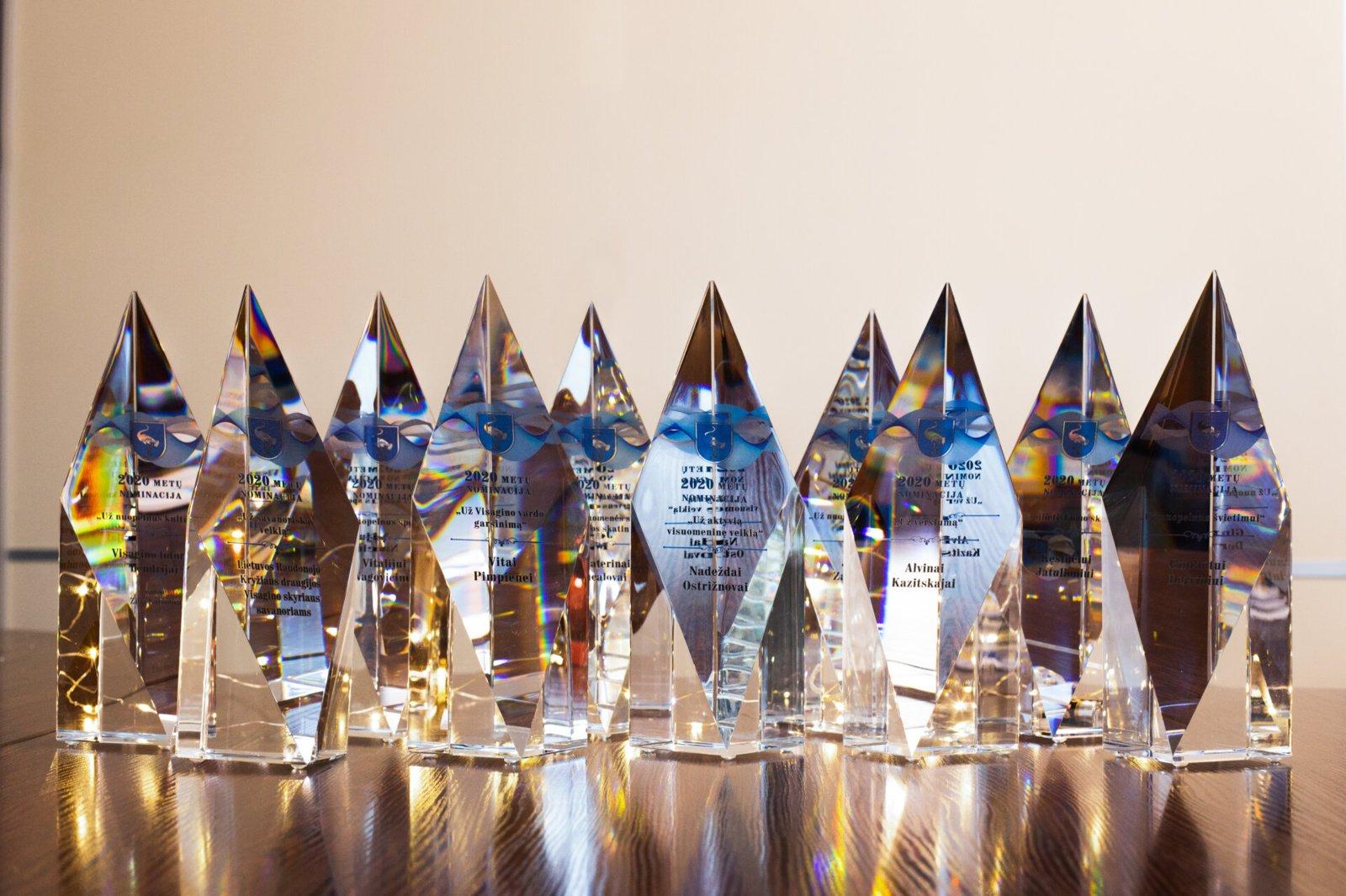 Visagine pasveikinti Metų nominantai