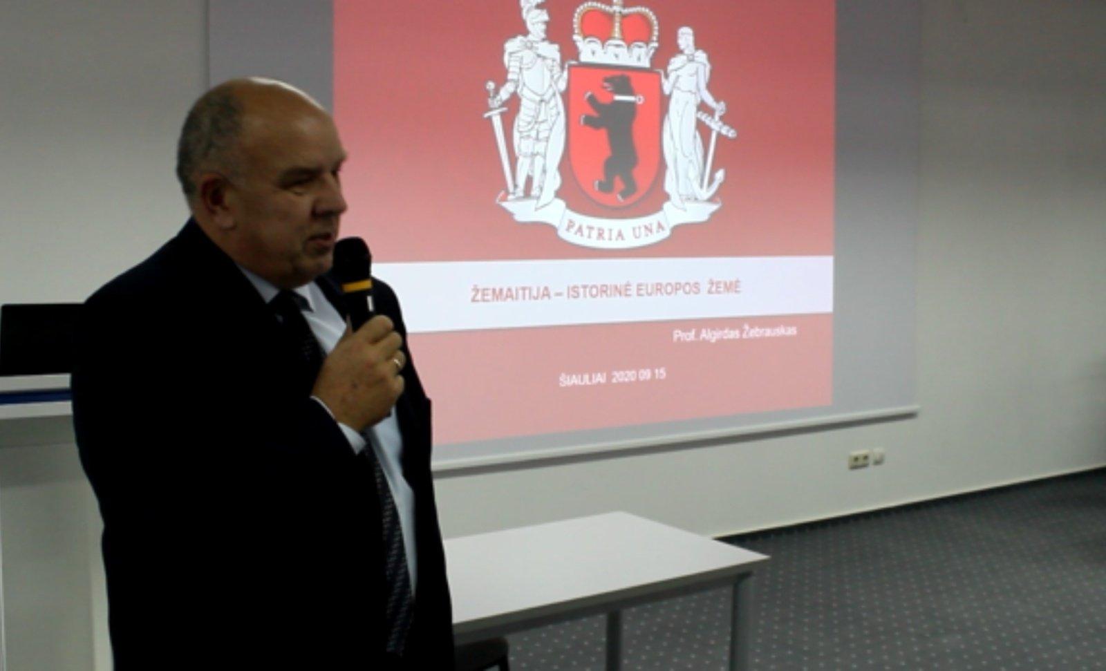 """Žemaičių projektas Šiauliuose """"Žemaitijos kultūros ženklai"""""""