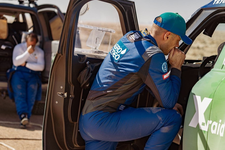 Vaidotui Žalai šis Dakaras baigtas