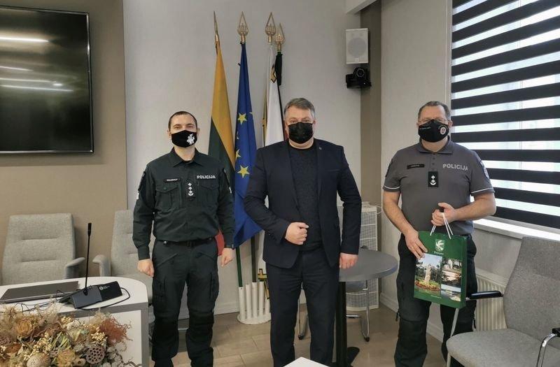 Pagėgių policijos komisariato vadovu paskirtas M. Jakštas