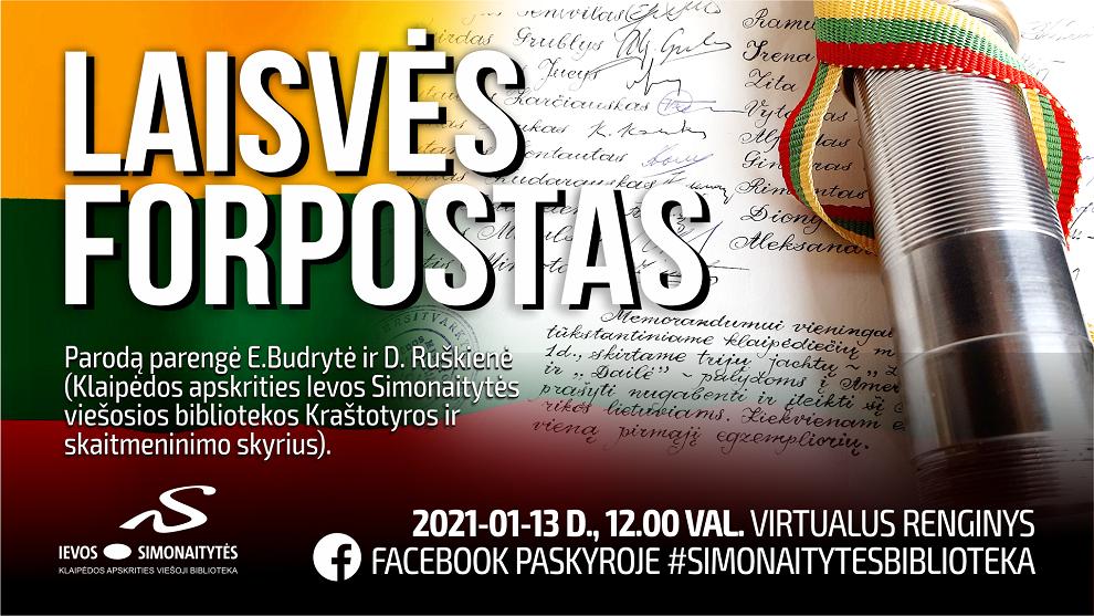 Virtualūs renginiai Ievos Simonaitytės viešojoje bibliotekoje