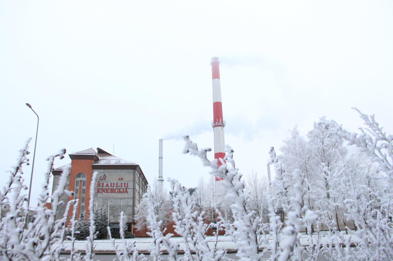 """AB """"Šiaulių energija"""" nuosekliai dirba, mažindama šilumos kainą vartotojams"""