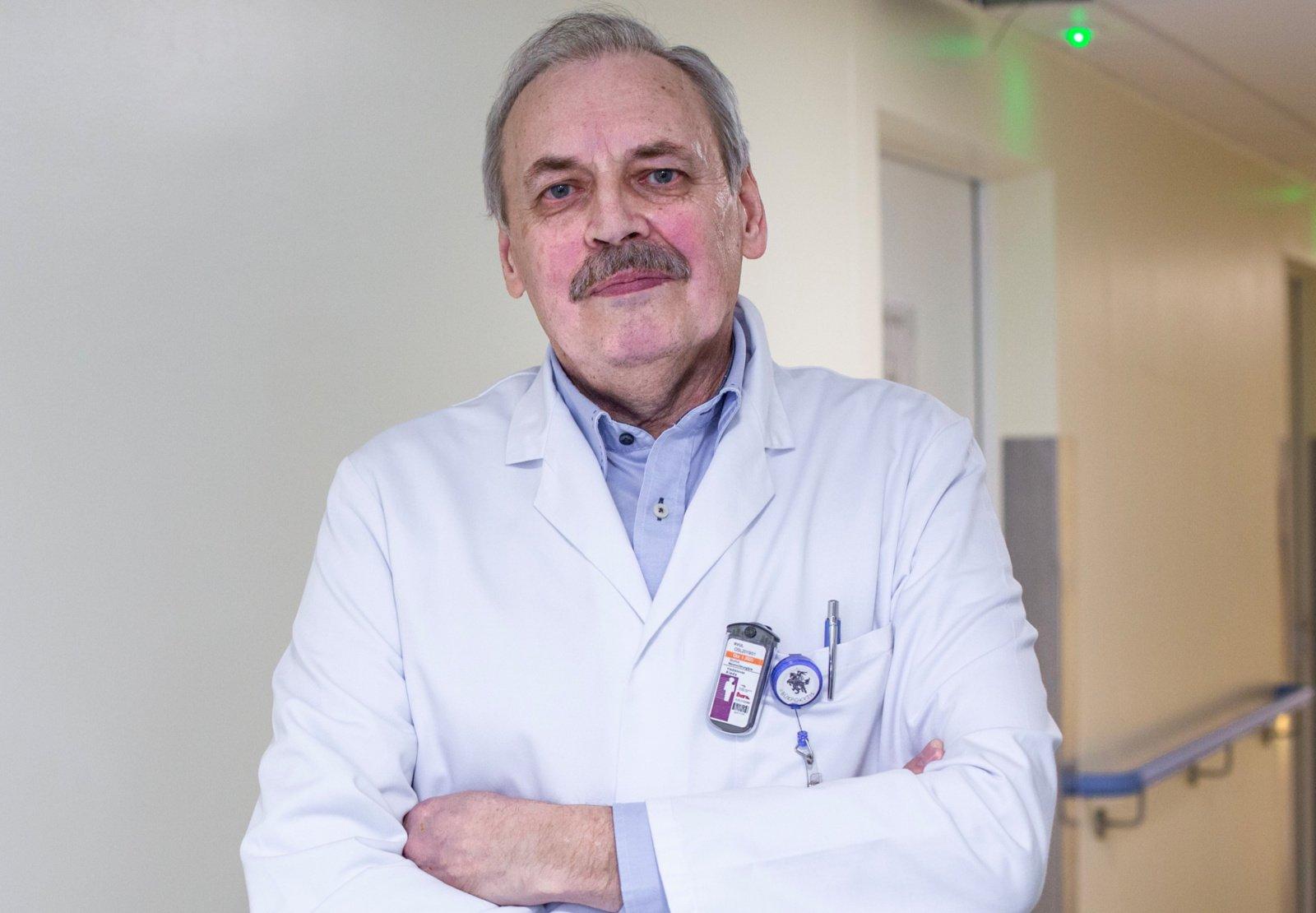 Neurochirurgas V. Kieda: stoti prieš tankus plikomis rankomis reikalinga ypatinga drąsa