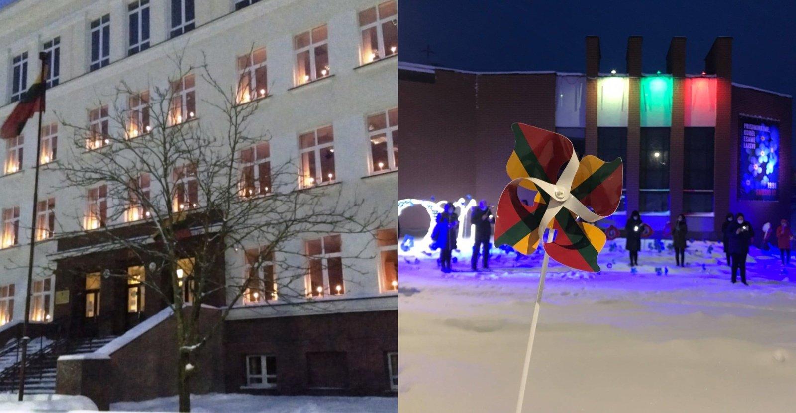 Kupiškyje ir Kupiškio rajone paminėta sausio 13-oji