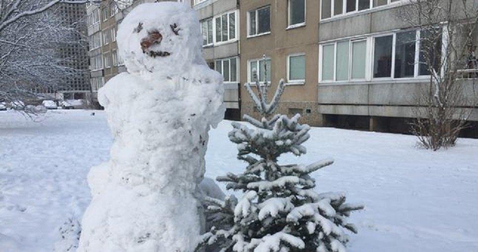 Atėjusi žiema parodė gyventojų kūrybiškumą