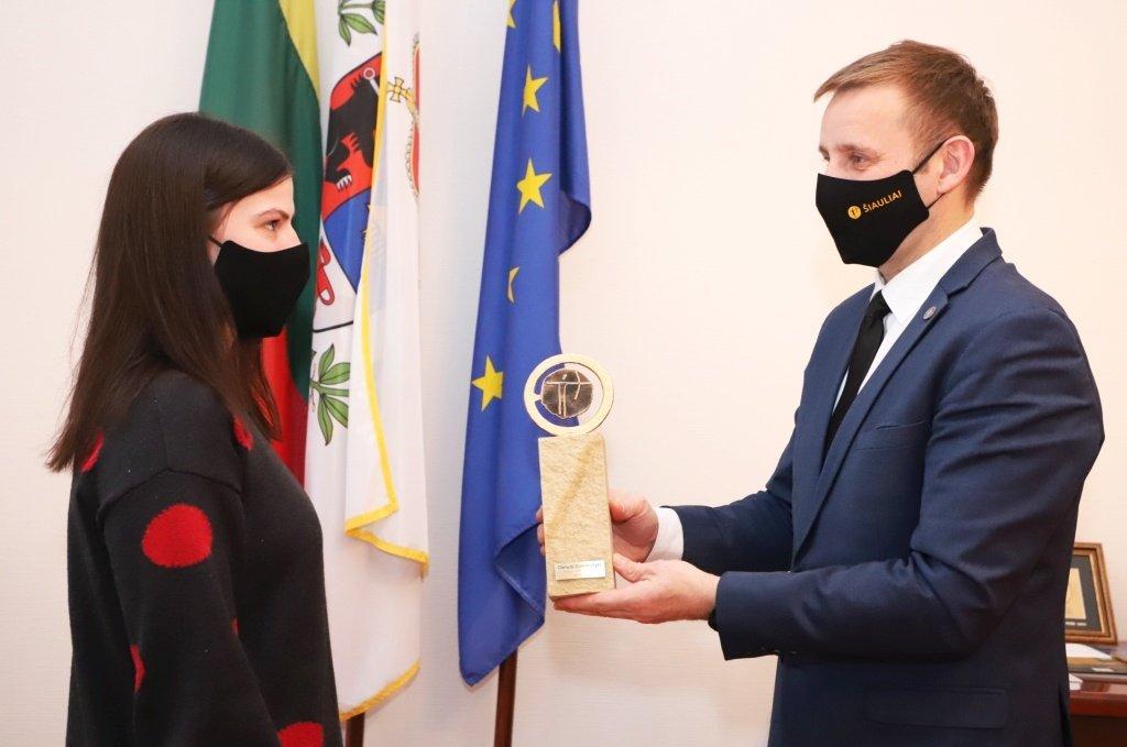 Šiaulių miesto metų sportininke išrinkta Danutė Domikaitytė
