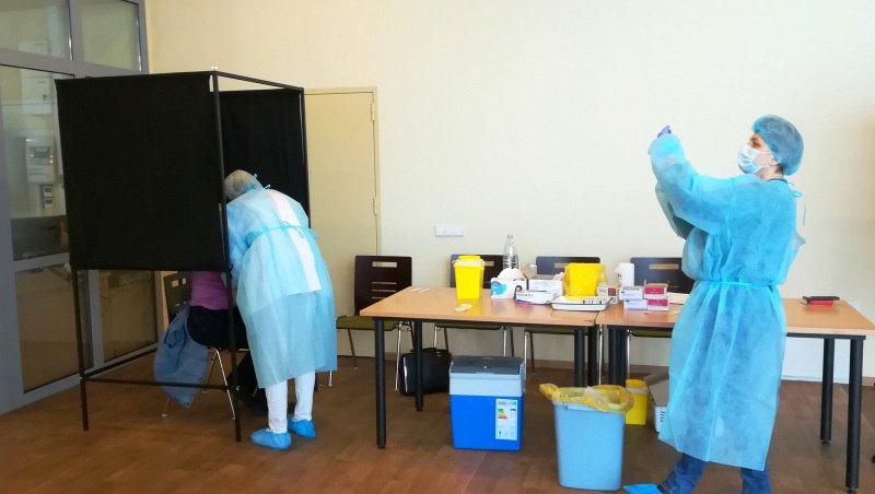 Kelmėje vyksta vakcinavimas nuo COVID-19 ligos