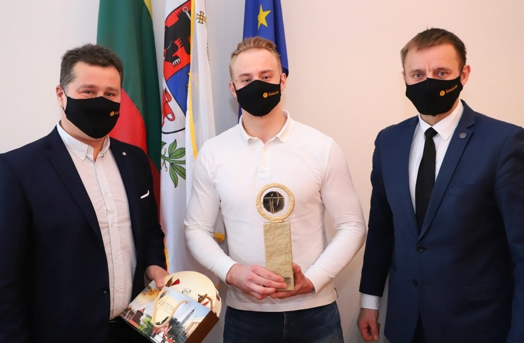 Gabrielius Pabijanskas – 2020 metų Šiaulių miesto metų sportininkas
