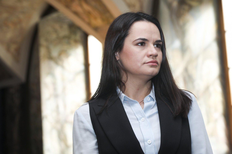 """S. Cichanouskaja: dėl """"Belorus"""" sanatorijos darbuotojų sunkumų kaltas A. Lukašenka"""