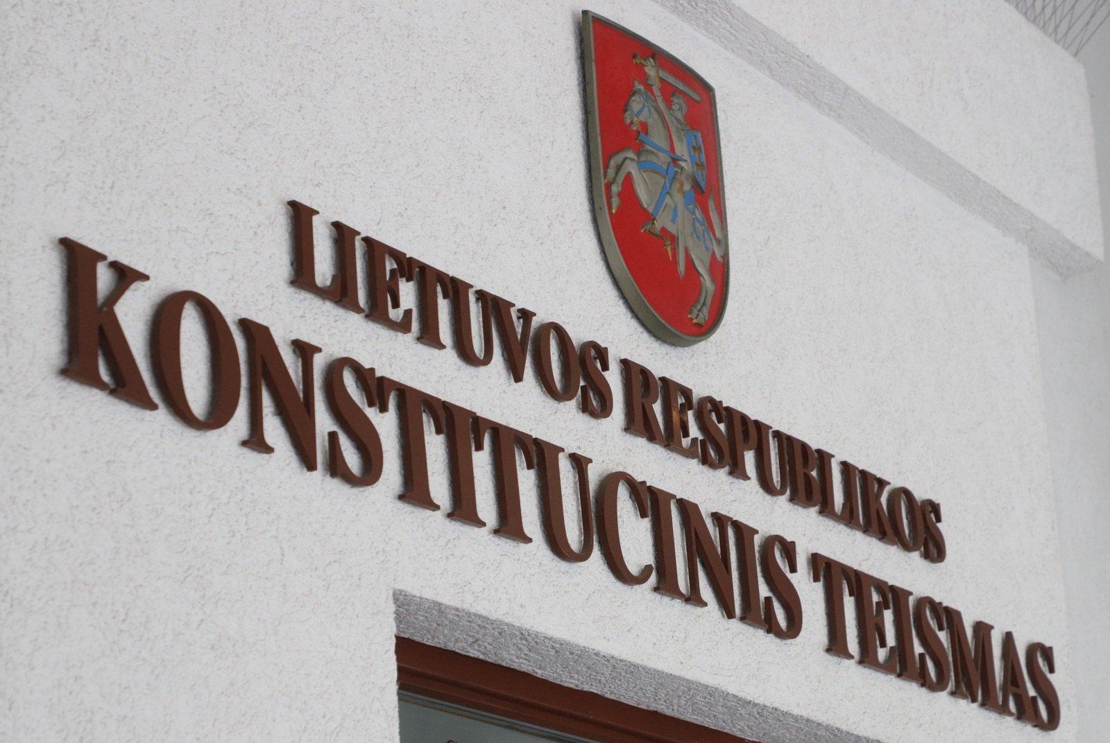 Seimas KT teisėjais paskyrė A. Norkūną, G. Lastauskienę, A. Kabišaičio kandidatūra atmesta