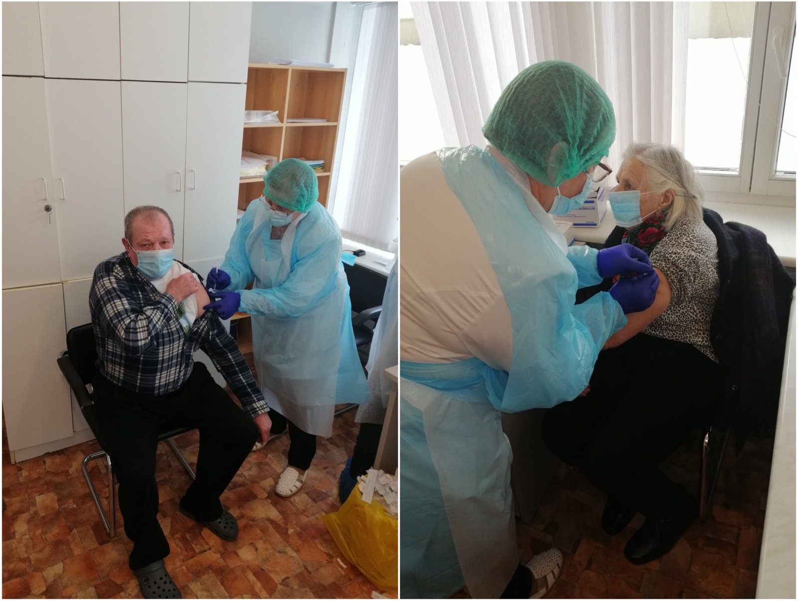 Pirmiausia paskiepyti globos ir slaugos įstaigų gyventojai, pacientai ir darbuotojai