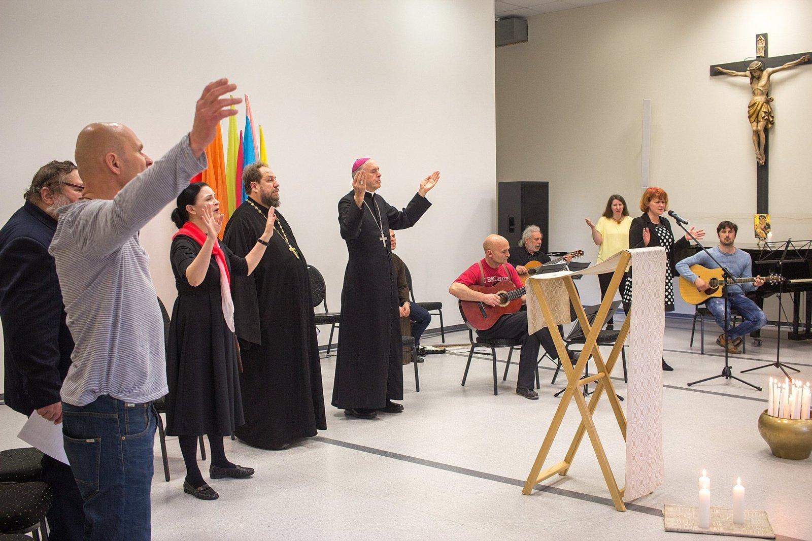 Prasidėjo Maldų už krikščionių vienybės savaitė