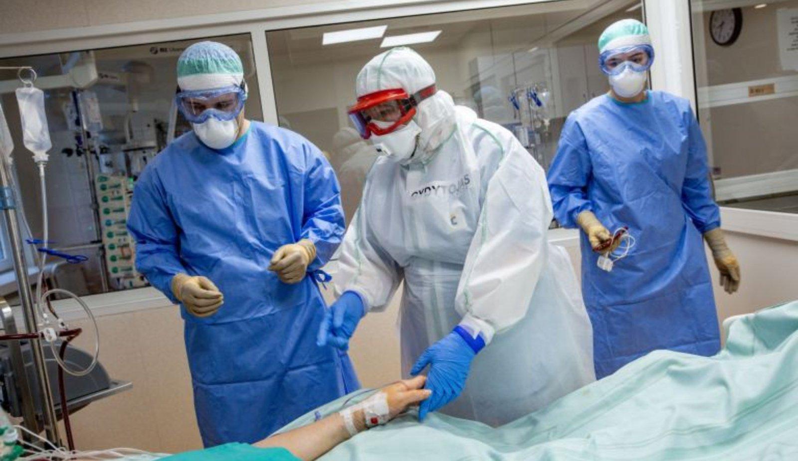 Alytaus ligoninėje mažinamas Covid lovų skaičius
