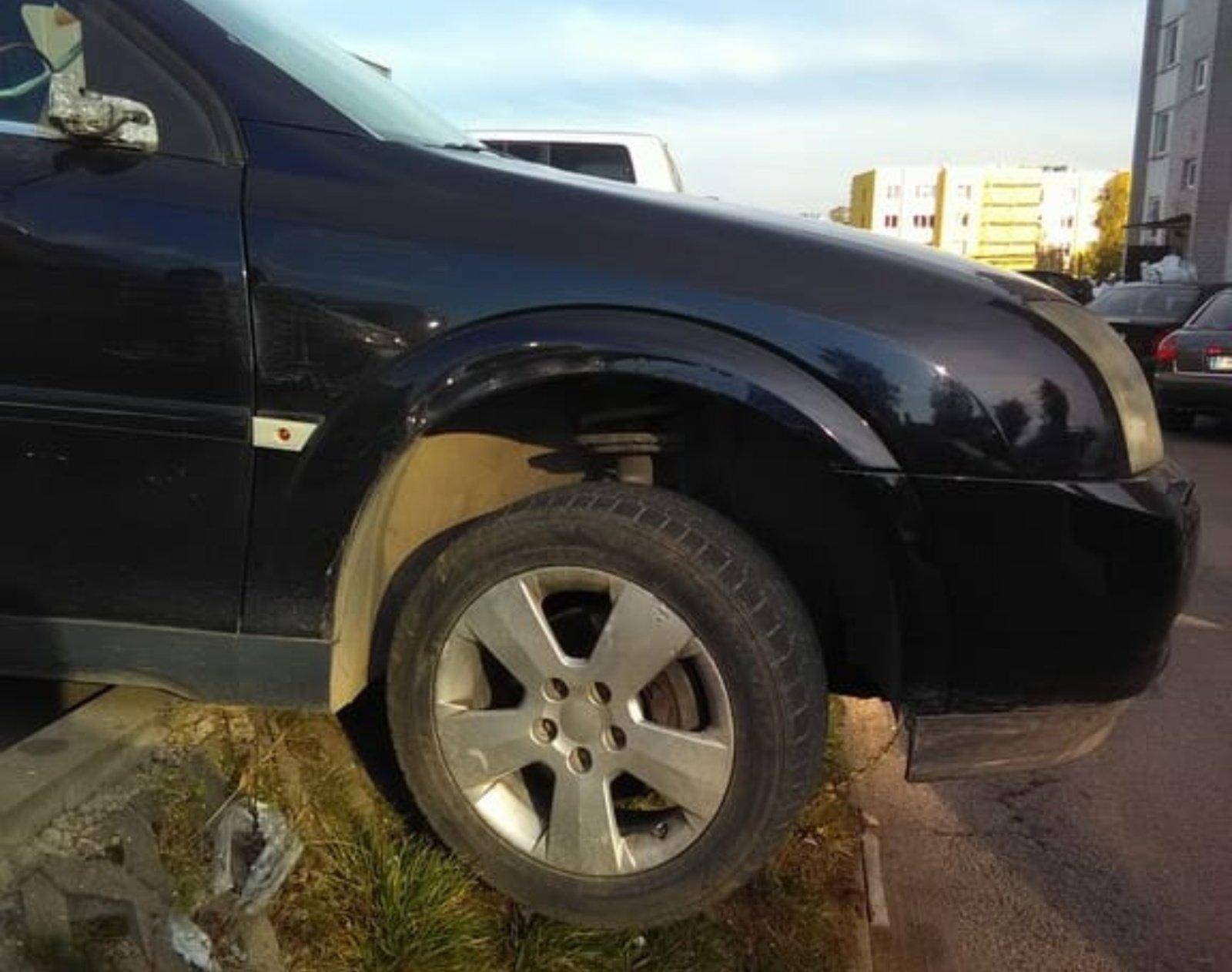 Girtas eismo įvykį sukėlęs Šalčininkų rajono gyventojas turės atsakyti už savo veiksmus