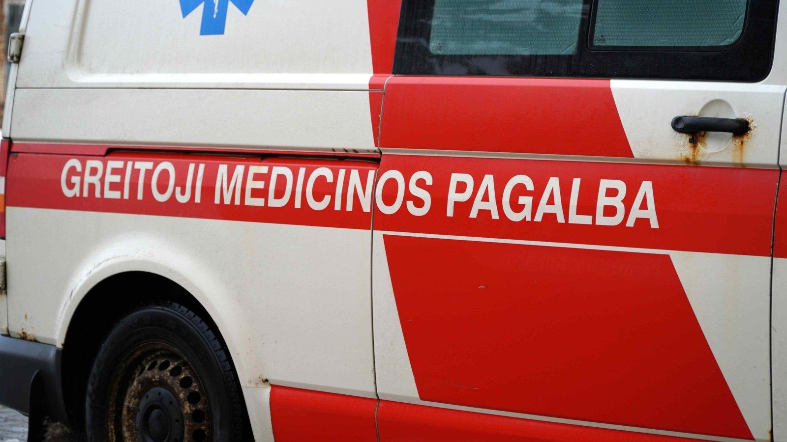 Rokiškyje partrenktas vyras: prireikė medikų pagalbos