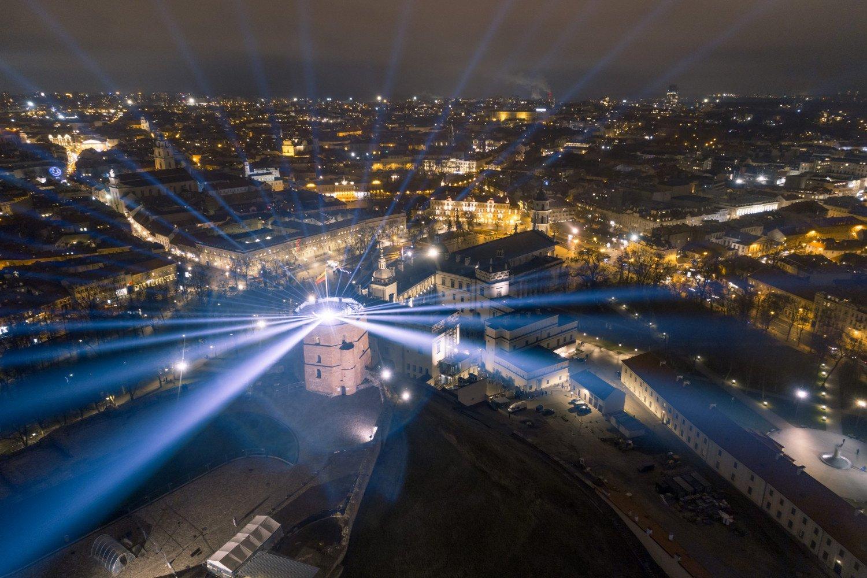Vilniaus gimtadienis: nušvis tiltai ir TV bokštas, sostinė žada pramogų akims, ausims, mintims ir širdžiai