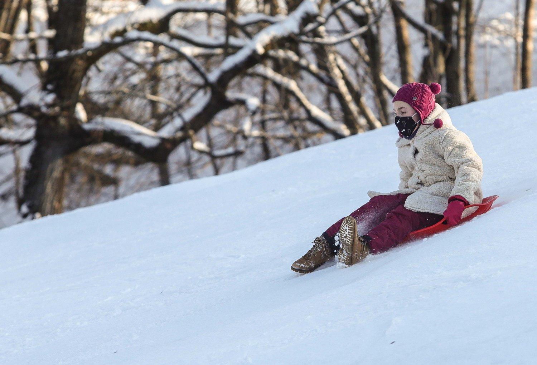 Kitą savaitę su gausiu sniegu ir pūgomis sugrįš žiema
