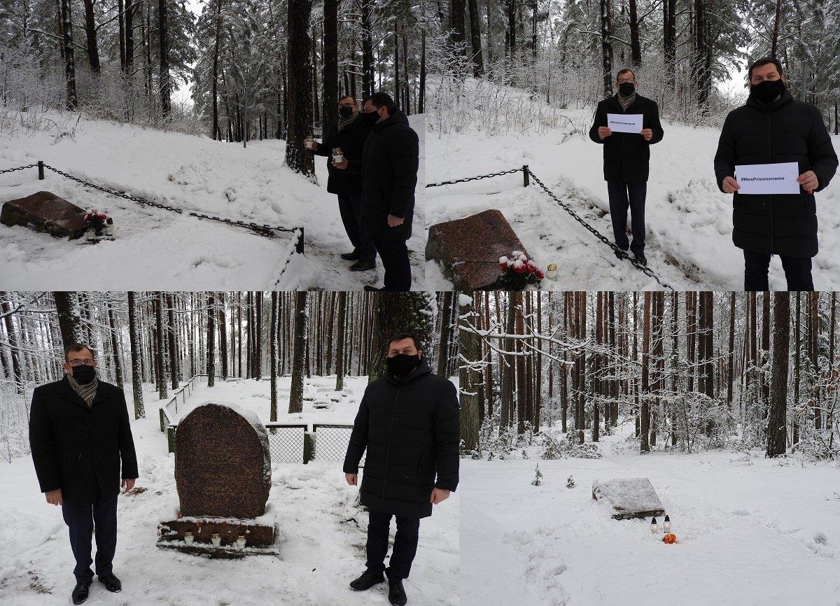 """Ignalina prisijungė prie pasaulinės akcijos """"Mes prisimename"""""""