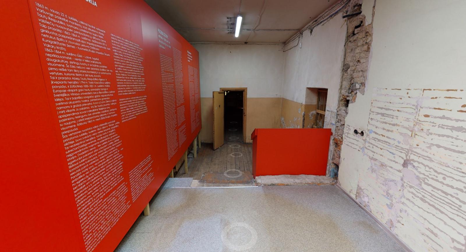 Buvusios areštinės kamerose įrengta paroda – jau ir virtualioje erdvėje