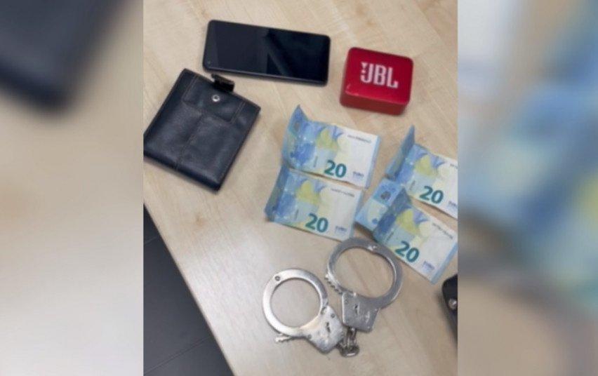Nepilnamečiai šalčininkiečiai po vagystės atsidūrė areštinėje (vaizdo įrašas)
