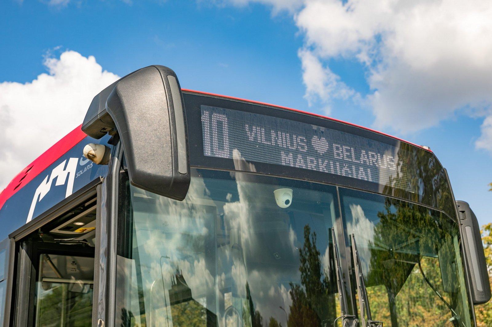 Solidarumo su baltarusiais dieną Vilnius siunčia palaikymo žinutę kaimynams