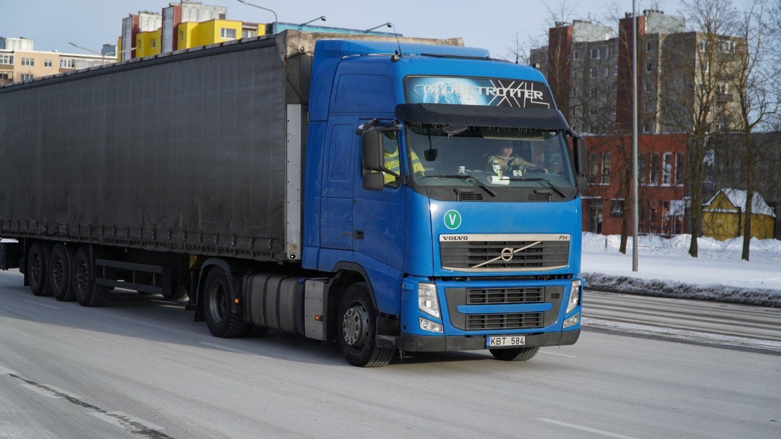 Darbo jėgos labiausiai trūksta transporto sektoriuje