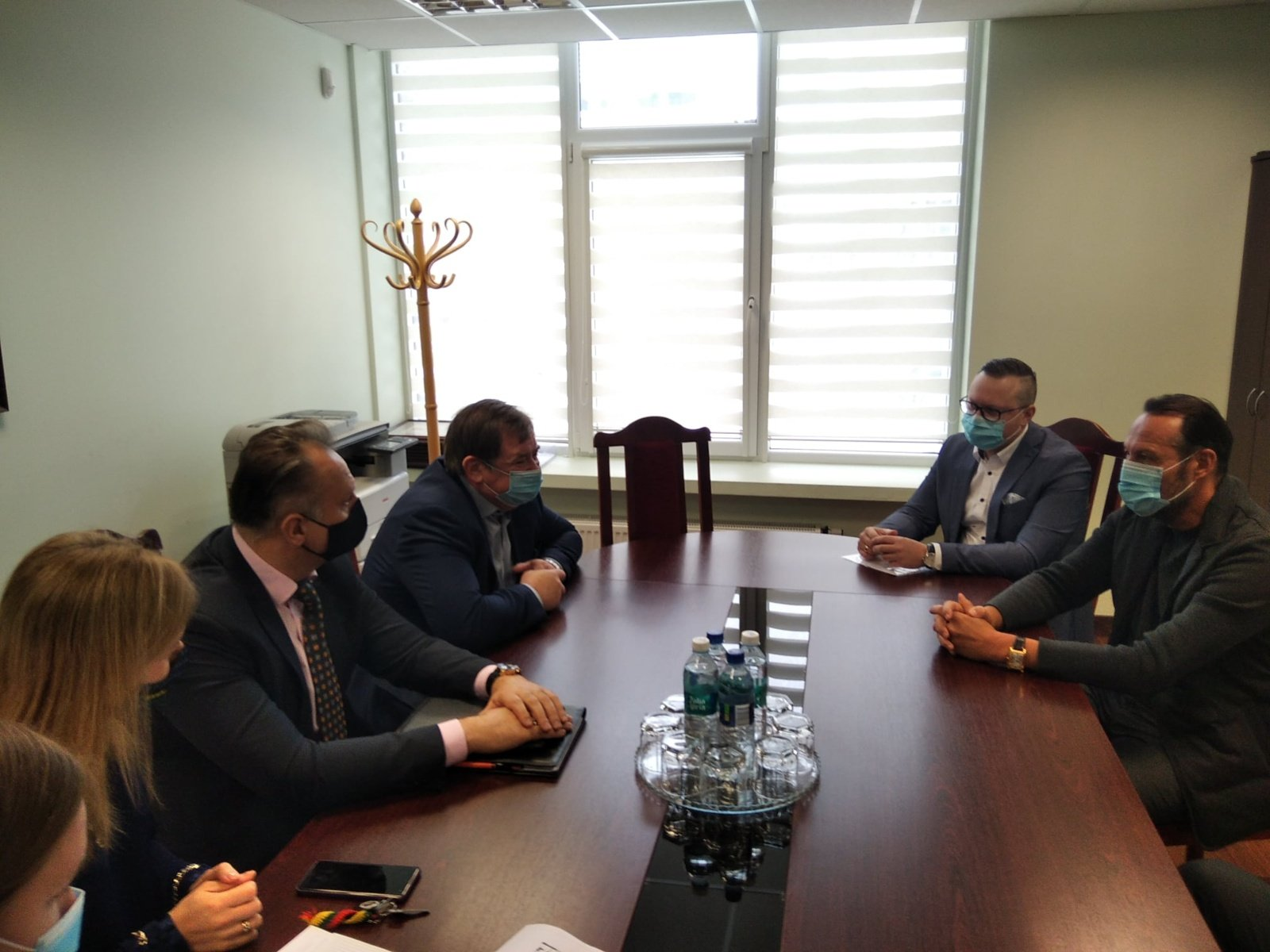 Su Lietuvos plaukimo federacijos vadovu diskutavo apie Elektrėnų baseino perspektyvas