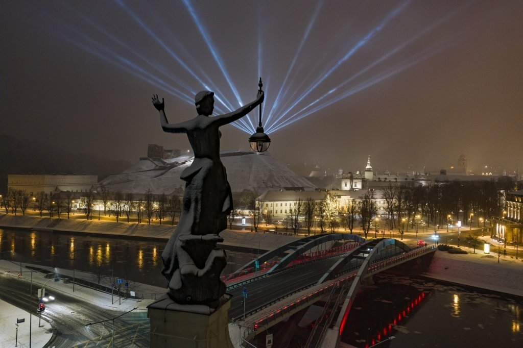 Kitokiai Valentino dienai – pasivaikščiojimas Vilniaus technikos inovacijų maršrutu