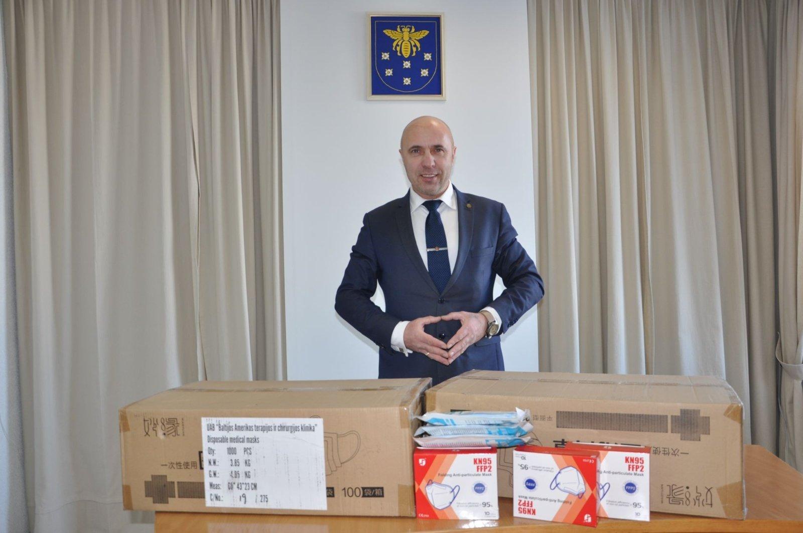 Varėnos rajono savivaldybė sulaukė labdaros už daugiau nei 32 tūkst. Eur