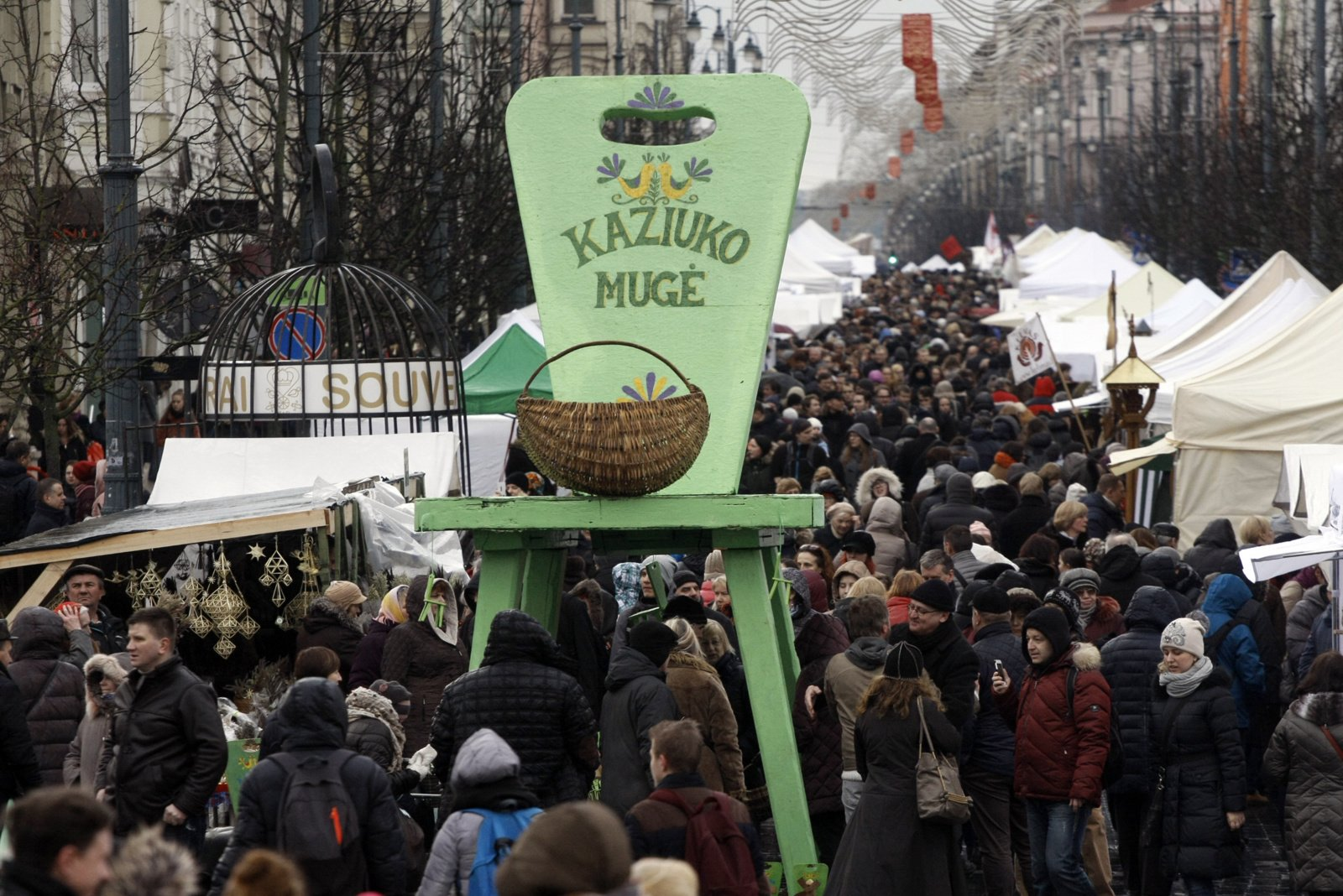 Vilniaus Kaziuko mugė šiemet vyks internete