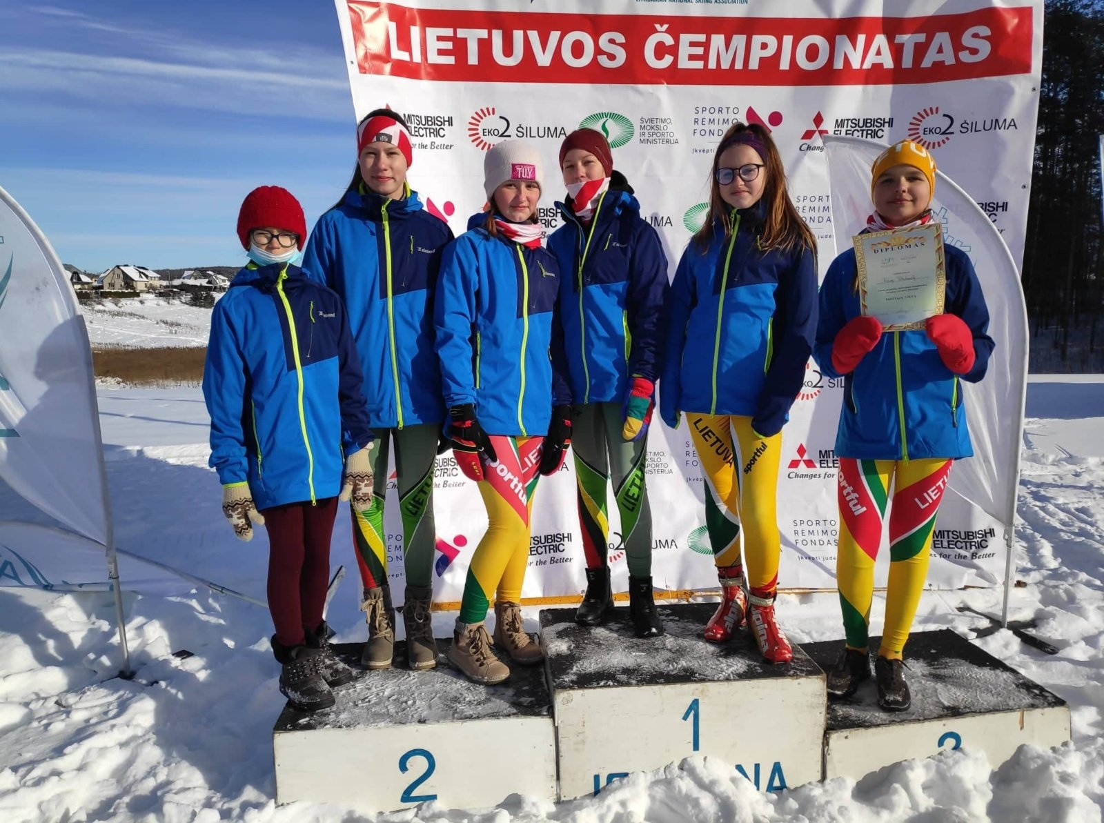 Ignalinos sportininkai pasipuošė medaliais