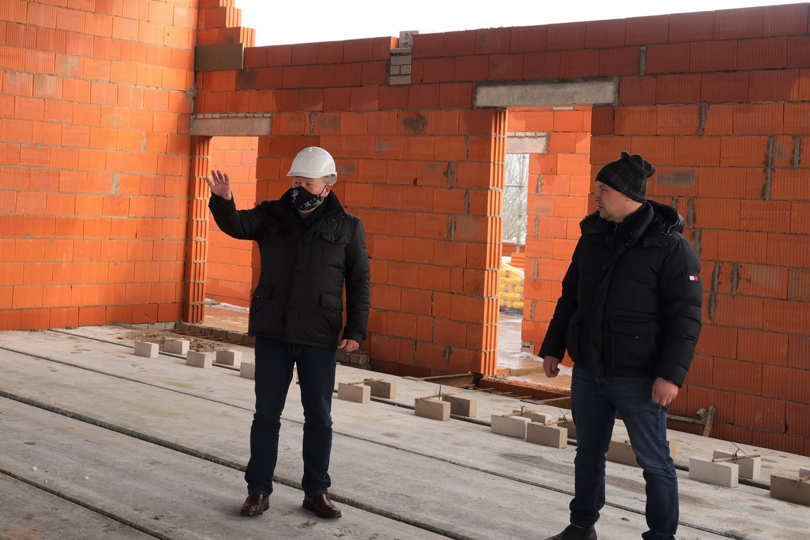 Pandemija ir šalčiai nesustabdė svarbių statybų Kauno rajone