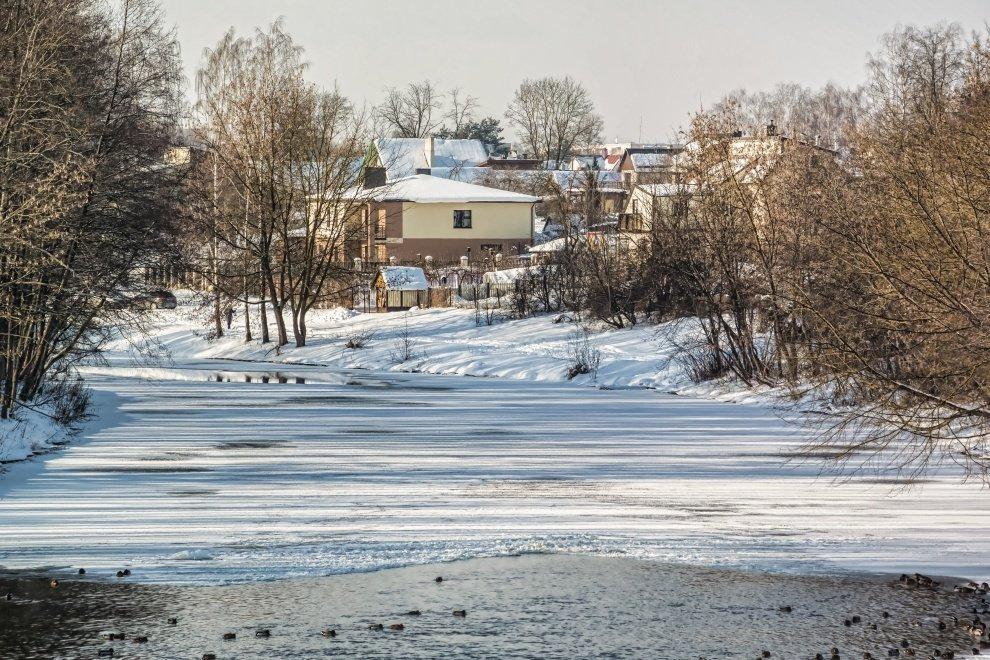 Šylant orams ir tirpstant sniegui Panevėžys ruošiasi polaidžiui