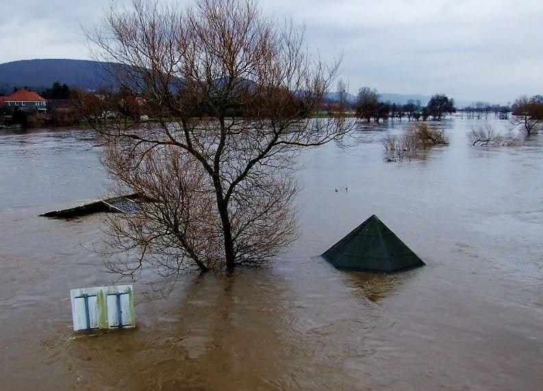 Mokslininkai: didelio masto potvynis padarytų žalos kone visoms Lietuvos savivaldybėms
