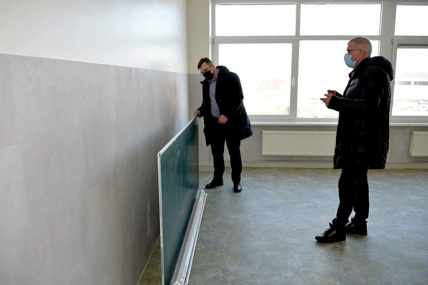 Šilalės Dariaus ir Girėno progimnazijoje užbaigti modernizavimo darbai