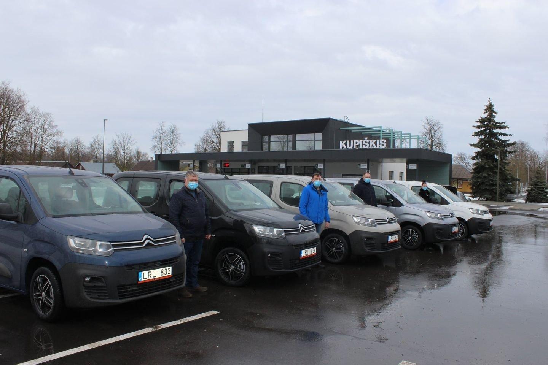 Kupiškio seniūnijoms – nauji automobiliai