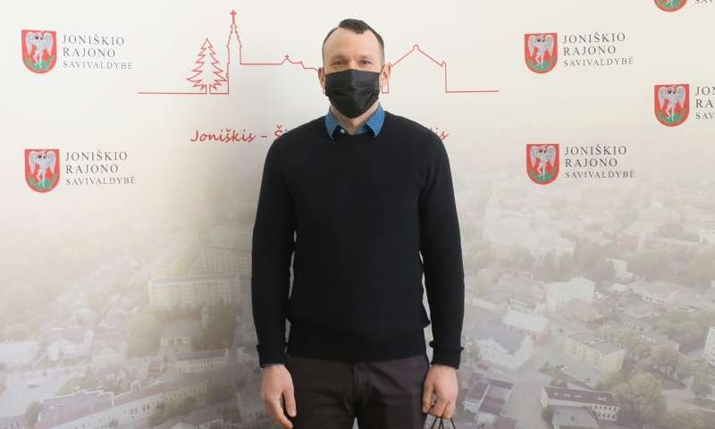 Joniškio rajono savivaldybės administracijos komandą papildė aplinkos apsaugos ir sanitarijos specialistas